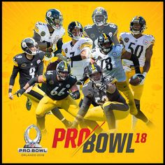 Eight Steelers have been selected to the 2018 ProBowl  Ben Roethlisberger  Alejandro Villanueva Le Veon Bell Ryan Shazier Maurkice Pouncey Chris  Boswell ... 844b0e833