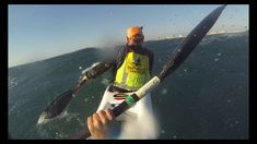 Surfski downwind dash - Cape Town SA #Surfski #Downwind #Downwinder #SA #CapeTown #SouthAfrica