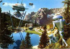 Aliens in Vintage I. All images (c) Franco Brambilla
