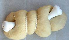 Self Slicing Hallah Handles... bake them into the bread... and it slices when you pull the handles...