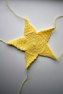 maluba: Hekleoppskrift på stjerner