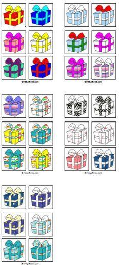 pakjesspel » Juf Sanne. En heel veel andere spellen en kleurplaten etc over Sinterklaas.