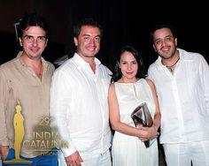 Grandes actores estuvieron presentes en los premios India Catalina