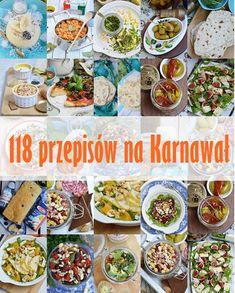 moja smaczna kuchnia: 118 przepisów na Karnawał Polish Recipes, Polish Food, Finger Foods, Ketogenic Diet, Food And Drink, Menu, Mexican, Ethnic Recipes, Alice