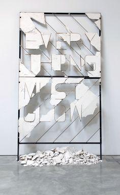 Everything Must Glow installation by Nick van Woert
