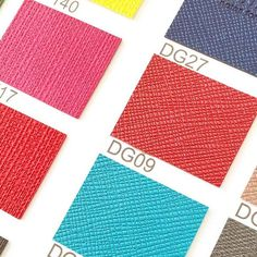 Our favorite part of product development... Color selection! // Emily Ley