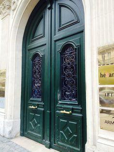 Porta verde  - Pelas ruas de Paris ...