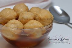 Rosbora... Urad dal dumplings in date palm jaggery syrup A special sweet dish from Bengal to celebrate the Makar Sankranti