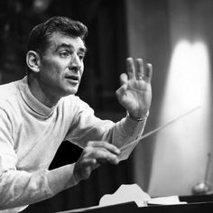 "Listen to music from Leonard Bernstein & New York Philharmonic like An American in Paris, Symphonic Dances from West Side Story: ""Somewhere"" & more. Find the latest tracks, albums, and images from Leonard Bernstein & New York Philharmonic. People Need The Lord, Vienna Philharmonic, London Symphony Orchestra, Leonard Bernstein, American Life, Conductors, Music Lessons, Sound Of Music, Classical Music"