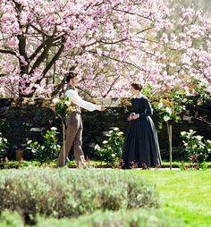 Michael Fassbender (Edward Fairfax Rochester) & Mia Wasikowska (Jane Eyre) - Jane Eyre (2011) #charlottebronte #caryfukunaga