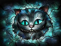 steel poster Movies & TV cheshirecat aliceinwonderland wonderland cat tricky book illustration popart