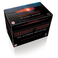 BARGAIN Knight Rider – The Complete Box Set [DVD] JUST £24.30 At Amazon - Gratisfaction UK Bargains #knightrider