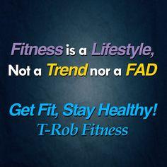 The right lifestyle is getting fit and staying healthy! #TRobFitness1 #getfitstayhealthy #PersonalFitnessTrainer #LasVegasNV #TRobFitness #NotaTrend #NotaFad #startuplife #BuildyourTomorrow