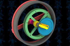 High Rate Planetary Mechanism - SOLIDWORKS - 3D CAD model - GrabCAD
