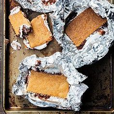 The Ultimate S'mores: Homemade Marshmallows and Homemade Graham Crackers. Yes, please!   @MyRecipes.com