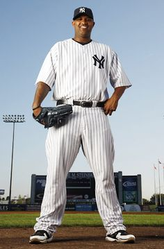 Standing tall at Yankee Stadium: #CC #Sabathia