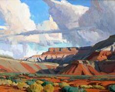 """""""Desert Angles,"""" G. Russel Case, 16x20, oil on linen"""