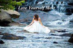 You have to love yourself before you can love anyone else.