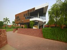 Annex Building of Korean Embassy in India / AA Studio Consulting   Netfloor USA