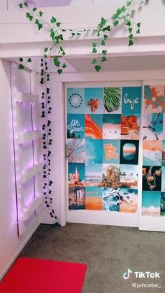 Cute Bedroom Decor, Room Design Bedroom, Room Ideas Bedroom, Bedroom Inspo, Neon Room Decor, Army Room Decor, Wall Decor, Cute Room Ideas, Indie Room