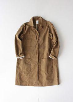 VC-1177 Wax coating coat - Veritecoeur,COAT - Veritecoeur(ヴェリテクール)