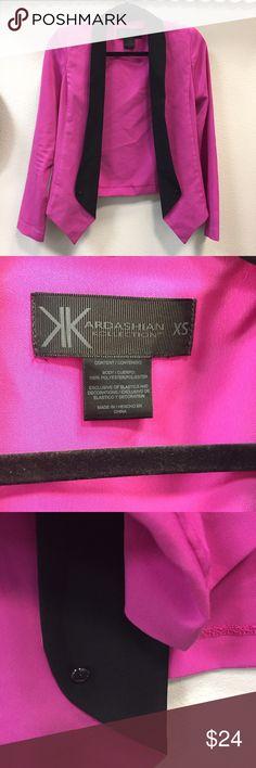 Kardashian Kollection Sexy Blazer Sharp, sexy silky Blazer. Size XS. Worn a few times, like new💅🏻 Kardashian Kollection Jackets & Coats Blazers