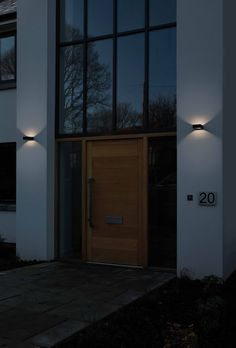 The architectural Napier wall light by Astro Lighting