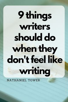 9 Things You Can Do When You Don't Feel Like Writing Here are 10 simple ideas on how to learn to cut Work On Writing, Book Writing Tips, Writing Process, Writing Resources, Start Writing, Writing Help, Creative Writing, Sentence Writing, Writing Workshop