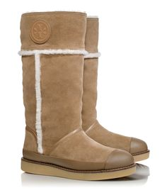Winter boots from Tory Burch