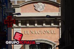 Restaurante el Nacional, Barcelona. Grup Actialia ofrece sus servicios en Barcelona: Diseño web, Diseño gráfico, Imprenta y Rotulación. www.grupoactialia.com
