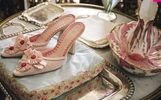 Shoes from Marie Antoinette movie
