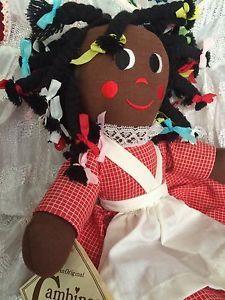 VTG Gambina Rag Doll Ninkie Black Americana NWT New Orleans Louisiana    eBay