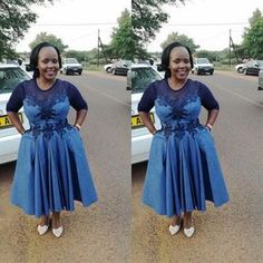 Traditional Attire 2019 For South African Women Setswana Traditional Dresses, African Traditional Wedding Dress, African Wedding Dress, African Weddings, African Wear, African Attire, African Women, African Dress, African Print Fashion