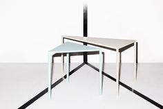 Massproductions - Point Tables. Scandinavian designer furniture with a modernist spirit!