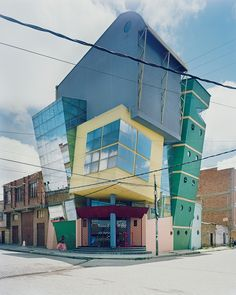 The Optimus Prime of architecture: Bolivia's crazily coloured buildings, and their miniatures – in pictures