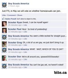 Boy Scouts to vote on lifting homosexual ban