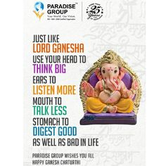Paradise Group wishes you Happy Ganesh Chaturthi 2016  www.paradisegroup.co.in  #ganpati #ganeshchaturthi #ganpati2016 #occasion #festival #realestate #residential #homes #luxury