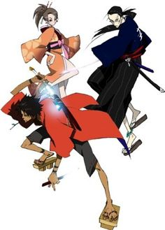 Samourai champloo. Such great actiony poses