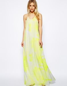 ASOS Maxi Dress With Graphic Print