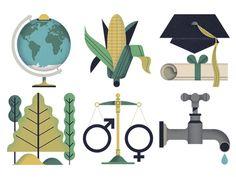 Today I love Owen Davey's Pyxera Global Icons.  Follow them here: https://dribbble.com/owendaveydraws and show them some love <3