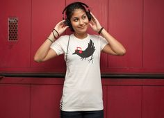"""Listening to My Song"" - Threadless.com - Best t-shirts in the world"