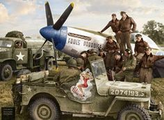 wwii jeep nose art navy pin up special delivery - Google Search