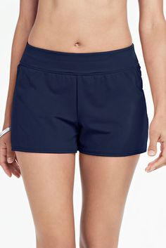 4509c4fa92941  55 swim shorts Women s Beach Living Swim Shorts with Tummy Control from  Lands  End Tankini