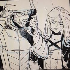 Ollie & Dinah in Green Arrow Rebirth