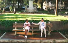 The 'Forrest Gump' Bench- to this day, when you sit in this square, dorks ask you where the bench was and the flowerbed is chained off since too many try to do a photo opp