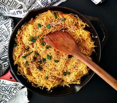 Spaghetti Squash Chow Mein #recipe via Do You Even Paleo? http://www.yummly.com/recipe/Spaghetti-Squash-Chow-Mein-1311167