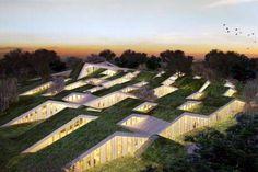 Vilhelmsro School, Denmark | BIG | Green Roofs Are Changing Architecture: BIG's New School In Denmark : TreeHugger
