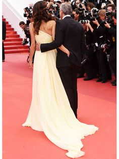 Amal and George Clooney at the Cannes 2016 Money Monster premiere