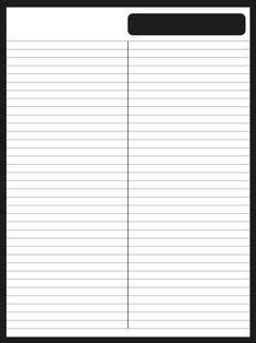 굿노트 파스텔 라인노트2 - 여러가지색 총집합_Black&White, etc여러분들이 컬러가 만족스러우신지 ... Stationary Printable, Printable Paper, Bts Wallpaper Desktop, 2018 Planner, Cute Journals, Bullet Journal Writing, Notes Template, Binder Organization, Stationeries