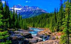 Alberta Canada Banff National Park Mistaya River And Canyon Peaks Stones Desktop Wallpaper Hd For Your Computer Mountain Wallpaper, Scenery Wallpaper, Vancouver, Hd Nature Wallpapers, Desktop Backgrounds, Desktop Wallpapers, Colorful Mountains, Snowy Mountains, Blue And Green